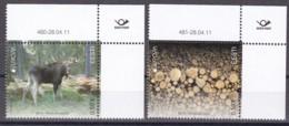 EESTII, 2011, 694/95, Europa: Der Wald. MNH ** - Estonia