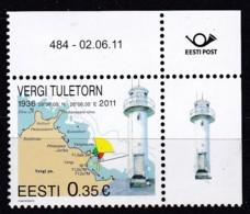 EESTII, 2011, 699, Leuchtturm Vergi. MNH ** - Estonia