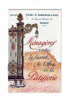 MOENCH Nancy Recettes ALSA L'art De La Patisserie Place Stanislas Nancy Grilles Jean Lamour Berger Levrault - Gastronomie