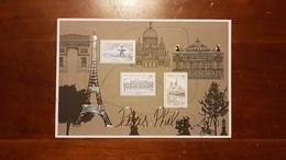 """BLOC FEUILLET F 5048 """"PARIS PHILEX SALON PHILATELIQUE"""" FRANCE 2016 - Stamps"""