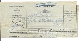 Telegram  RONSE T * *  22.II.1944 (volledig Doc.) - Stamped Stationery