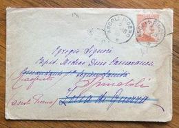 GRANDE GUERRA  BUSTA  Del 3/1/18 GIUNTA AL FRONTE RIMANDATA AD ALTRO INDIRIZZO PERCHE' IL Capitano Medico è Trasferito - 1900-44 Vittorio Emanuele III