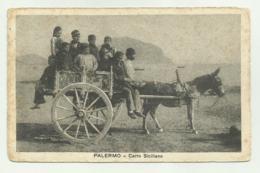 PALERMO - CARRO SICILIANO 1932  VIAGGIATA FP - Palermo