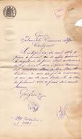 Romania, 1899, Vintage Court Decision - Revenue / Fiscal Stamp / Cinderella - Fiscaux