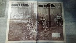 Match L'intran 1935 Cross Football Pepito Alcazar Ski André Japy Aviation Rugby Boxe  Sport Pellos - Sport