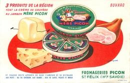 Buvard Ancien FROMAGERIES MERE PICON SAINT FELIX - Produits Laitiers
