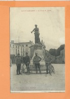 CPA - ST SAINT MAIXENT - La Statue De Judith - Saint Maixent L'Ecole