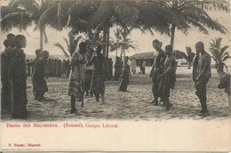 Danse De Mayumbes. (Soussé). Congo Litoral.  (scan Verso). - Autres