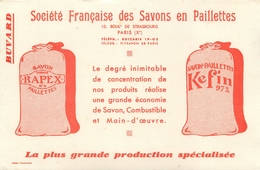 Buvard Ancien KEFIN SOCIETE FRANCAISE DES SAVONS A PAILLETTES - PARIS - Parfums & Beauté