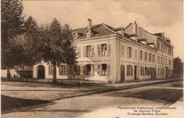 Carouge- Genève Pensionnat Catholique International De Jeunes Filles - GE Ginevra