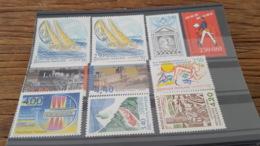 LOT 437240 TIMBRE DE FRANCE NEUF** LUXE FACIALE 4,9 EUROS - France