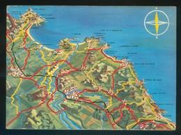 Girona *Costa Brava* Ed. G. Costa Nº 500. Dep. Legal B. 13801-1963. Nueva. - Mapas