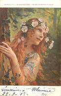 Tableaux -ref B200-arts -tableau -peinture-illustrateurs- Femmes - Peintre Gaston Bussiere -leilah -imp Lapina Paris - Peintures & Tableaux