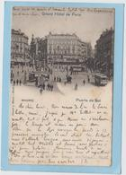 MADRID  -  PUERTA  DEL  SOL  -  GRAND  HOTEL  DE  PARIS  -  1903  - - Madrid