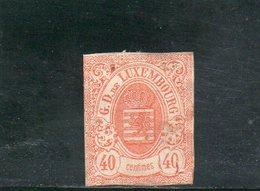 LUXEMBOURG 1859-63 * DEFECTEUX - 1859-1880 Wappen & Heraldik