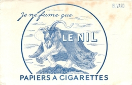 Buvard Ancien PAPIERS A CIGARETTES - LE NIL - Tabac & Cigarettes