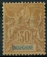 Indochine (1892) N 11 * (charniere) - Indochine (1889-1945)