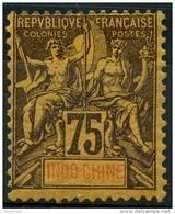Indochine (1892) N 14 * (charniere) - Indochine (1889-1945)