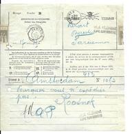 Telegrammes Amsterdam  /  TAMINES  30 JANV 06 *  Verso FARCIENNES 31 JANV 1906 - Stamped Stationery