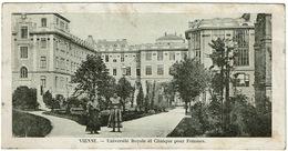 CPA Autriche. Vienne. Université Royale Et Clinique Pour Femmes. Animée. 1910 - Otros