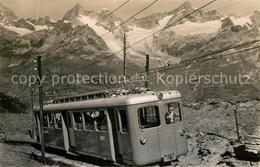 13339274 Gornergratbahn Obergabelhorn Zinalrothorn  Gornergratbahn - VS Valais