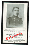 Lot 002 Oorlogsslachtoffer Goddyn Theophile-Joseph Torhout 1886 Gesneuveld Namen Oogst 1914 - Images Religieuses