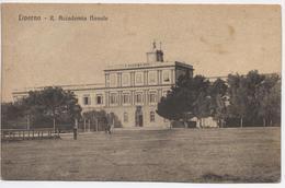 LIVORNO  Accademia Navale  Cartolina Viaggiata 1907 - Livorno