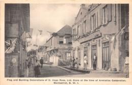 Montserrat / 03 - Flag And Bunting Decorations - Antilles