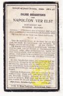 DP Napoléon Ver Elst Verelst ° Wijtschate 1847 † 1920 X Eug. Dupont - Images Religieuses