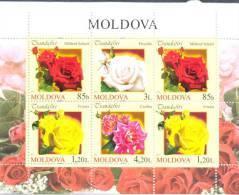 2012. Moldova, Flowers, Roses Of Moldova, S/s, Mint/** - Moldavie