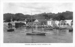 Nevis / 10 - St. Vincent - Fishing Smacks - Antilles