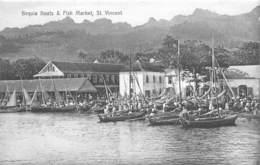 Nevis / 12 - St. Vincent - Bequia Boats And Fish Market - Antilles
