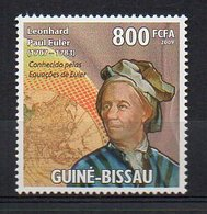 GUINEA BISSAU. SCIENCE. LEONHARD PAUL EULER. MNH (2R2847) - Famous People