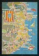 Girona. Serie *Costa Brava* Nº 1. Ed. Tip. Lit. Industrias Madriguera, S.A. Nueva. - Mapas