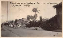 Nicaragua / 12 - Managua - Ruinas Del Hotel America - Nicaragua
