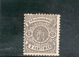 LUXEMBOURG 1874-80 SANS GOMME - 1859-1880 Wappen & Heraldik