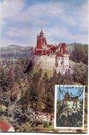 41686 Romania,maximum 1979  The Castle Of  Bran  (dracula's Castle)  , Architecture, - Cartes-maximum (CM)
