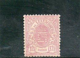 LUXEMBOURG 1874-80 * SIGNE' - 1859-1880 Wappen & Heraldik