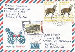 Ethiopia 2004 Awassa WWF Grevy's Zebra Bushbuck Cover - W.W.F.