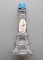- Ancienne Miniature De Parfum - Ambre - Tour Eiffel - - Miniatures Anciennes (jusque 1960)