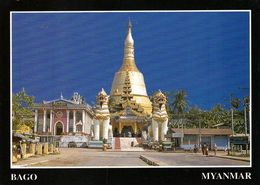 1 AK Myanmar * Die SHWE MAW DAW Pagode (erbaut 825) In Der Stadt Bago * - Myanmar (Burma)