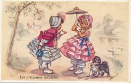I37 - Illustrateur - Germaine Bouret - Les Précieuses Ridicules - Bouret, Germaine