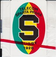 "Czechoslovakia; C9. Rugby Sparta Praha; Chip SC5; Blister With Print ""RUGBY"" - Czechoslovakia"