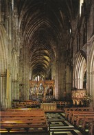 Postcard Worcester Cathedral The Nave Looking East My Ref  B23367 - Worcestershire