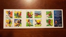 "CARNET ADHESIF BC 1278 ""FOOT VOS 10 GESTES PREFERES"" FRANCE 2016 - Stamps"