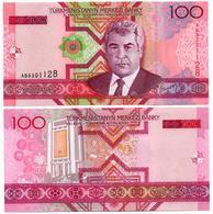 Turkménistan - 100 Manat 2005 (UNC) - Turkménistan