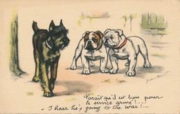 I37 - Illustrateur - Germaine Bouret - Il Parait Qu'il Est Bon Pour Le Service Armé!... - Bouret, Germaine