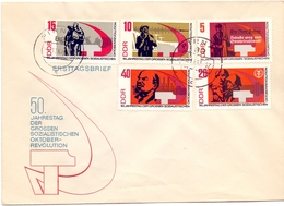 DDR THE GREAT SOCIALIST OCTOBER REVOLUTION (GEN190144) - [6] Democratic Republic