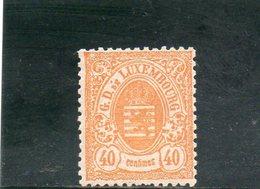 LUXEMBOURG 1874-80 * - 1859-1880 Wappen & Heraldik
