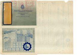 ISTITUTO NAZIONALE DELLE ASSICURAZIONI 1941 Meccanico 1941 0,50 - Affrancature Meccaniche Rosse (EMA)